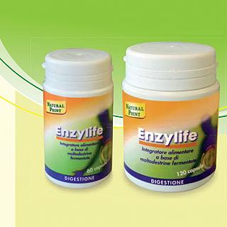NATURAL POINT ENZYLIFE 120 Capsule vegetali
