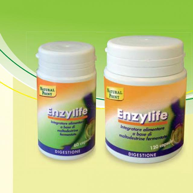 NATURAL POINT ENZYLIFE 60 Capsule vegetali