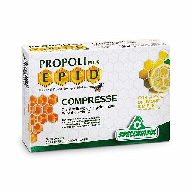 EPID® COMPRESSE GUSTO LIMONE-MIELE