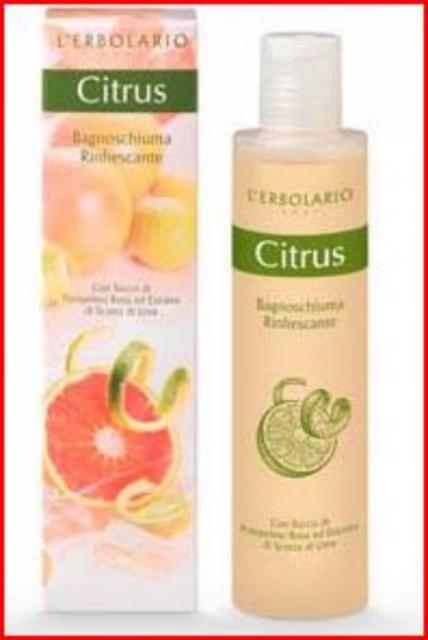 ERBOLARIO Citrus Bagnoschiuma Rinfrescante 200 ML