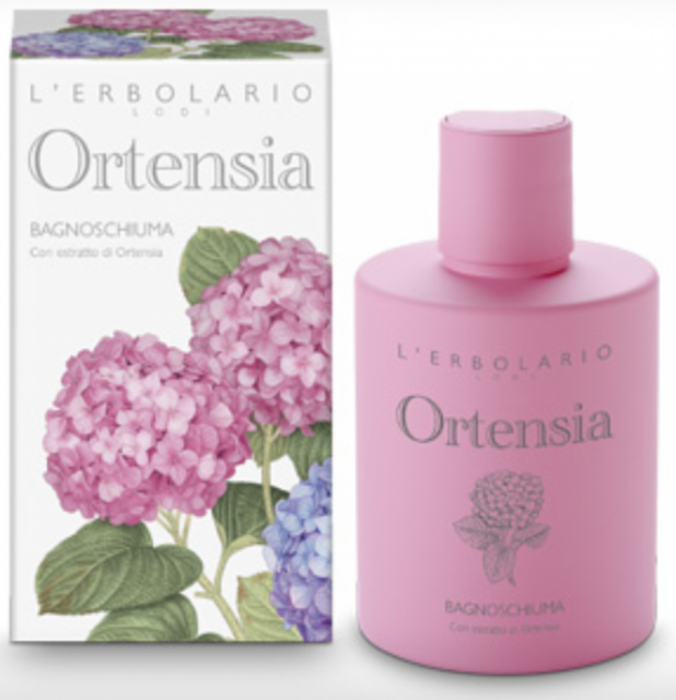 ERBOLARIO Ortensia BAGNOSCHIUMA 300ml