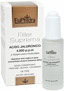 EUPHIDRA FILLER SUPREMA ACIDO JALURONICO 4000 P.PM 30ML