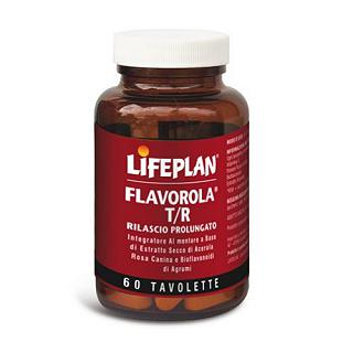 LIFEPLAN VITAMINE - FLAVOROLA T/R Gluten free, 100% naturale, vegan friendly, senza lattosio