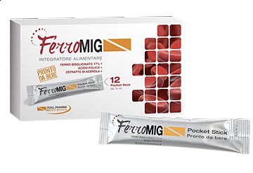 FERROMIG 12 STICK PACK