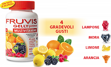 FRUVIS MULTIVITAMINE GELLY GOMMOSE