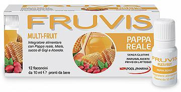 FRUVIS Multi-Fruit Pappa Reale 12 Flaconcini 10 ml
