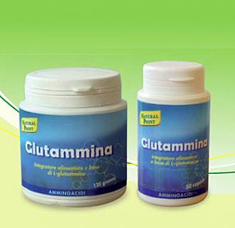 NATURAL POINT GLUTAMMINA Confezione 500 mg - 50 capsule