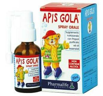 PHARMALIFE APIS GOLA BIMBI SPRAY ORALE 20ml