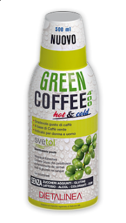 GREEN COFFE 400 DIETALINEA 500 ML.
