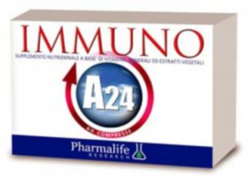 PHARMALIFE IMMUNO A24 60 COMPRESSE