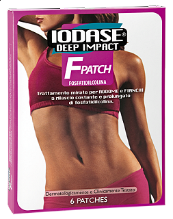 NATURAL PROJECT - IODASE DEEP IMPACT F PATCH  ADDOME-FIANCHI 6 CEROTTI