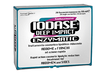 NATURAL PROJECT - IODASE DEEP IMPACT ENZYMATIC  FLACONCINI 20X10ml