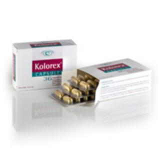 KOLOREX 36 CAPSULE NAMED