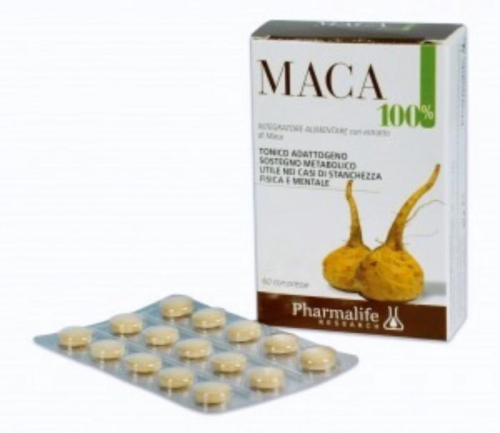 PHARMALIFE MACA 100% 60 COMPRESSE