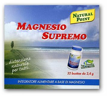 NATURAL POINT MAGNESIO SUPREMO 32 BUSTINE