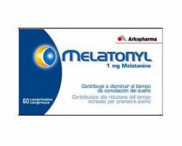 ARKOPHARMA MELATONYL 1MG 60 COMPRESSE