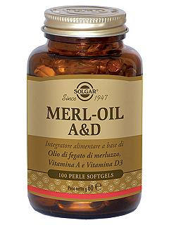 SOLGAR Merl-Oil A&D 100 Perle-Softgels