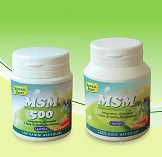 NATURAL POINT MSM 500 - 60 Capsule