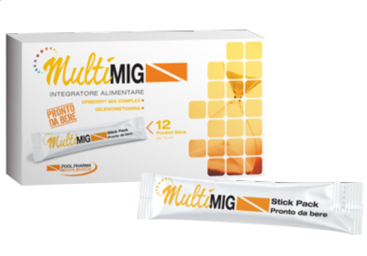 MULTIMIG MIX ANTIOSSIDANTE 12 STICK PACK