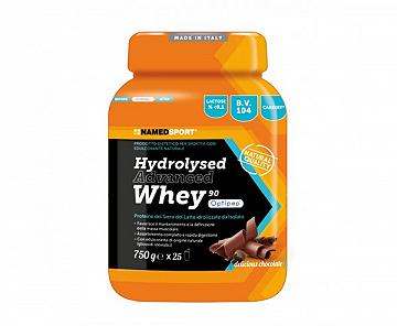 HYDROLYSED ADVANCED WHEY PROTEIN Vaniglia 750 G NAMED SPORT Gusto Vaniglia o Cioccolato