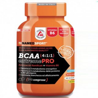 BCAA 4:1:1 EXTREME PRO  310 compresse NAMED SPORT