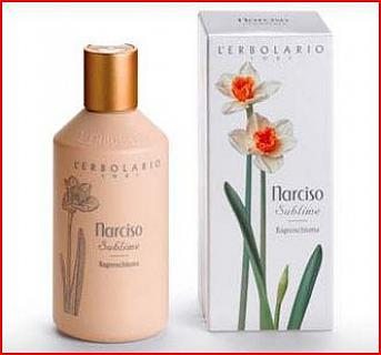 ERBOLARIO NARCISO SUBLIME Bagnoschiuma 250 ML