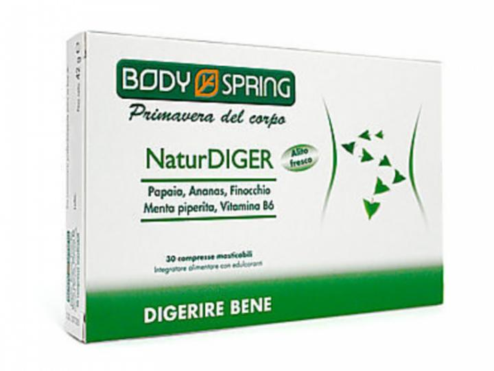BODY SPRING NATUR DIGER 30C PAP