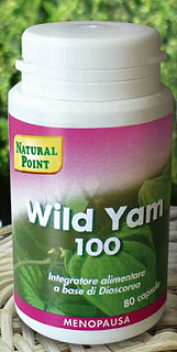 NATURAL POINT WILD YAM 100 - 80 CAPSULE 100 mg