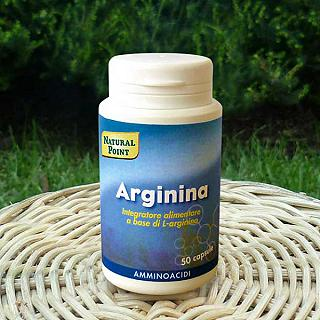 NATURAL POINT ARGININA 500 mg