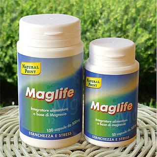 NATURAL POINT MAGLIFE (magnesio in capsule) 100 Capsule