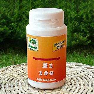 NATURAL POINT B1 100 capsule La vitamina amica del tuo morale