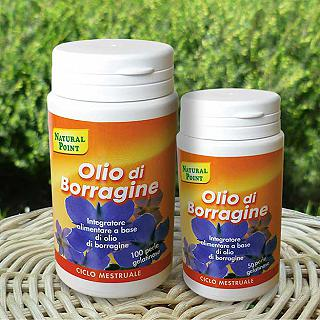 NATURAL POINT OLIO DI BORRAGINE 100 perle gelatinose da 500 mg L'amico fidato del tuo essere donna