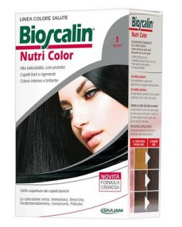 BIOSCALIN NUTRI COLOR TINTA 1 NERO