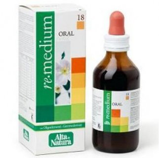ALTA NATURA REMEDIUM 18 ORAL Gola 100ml
