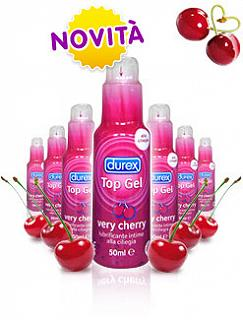 DUREX - TOP GEL VERY CHERRY