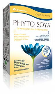 ARKOPHARMA PHYTO SOYA  GIORNO & NOTTE 60 CAPSULE