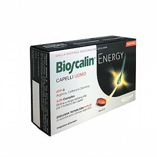 BIOSCALIN ENERGY CAPELLI UOMO 30 COMPRESSE NEW !!!