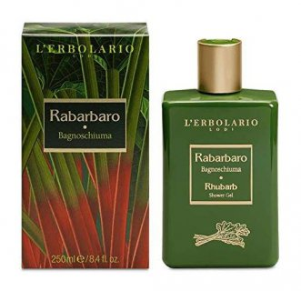 L'ERBOLARIO - Rabarbaro Bagnoschiuma 250ml fragranza aromatica e legnosa