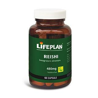 LIFEPLAN - REISHI Gluten free, 100% naturale, vegan friendly, senza lattosio