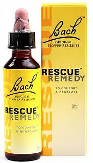 RESCUE REMEDY 20 ml BACH ORIGINAL FLOWER REMEDIES