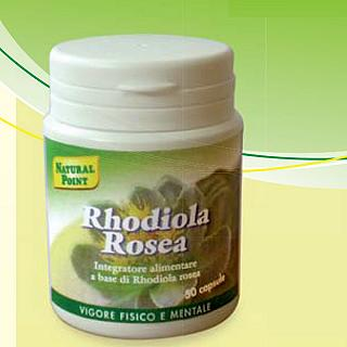 NATURAL POINT RHODIOLA ROSEA 50 CAPSULE Vegetali 500 mg Rodiola Estratto Secco