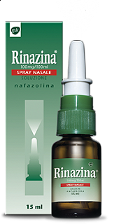 RINAZINA SPRAY NASALE 15 ML NAFAZOLINA