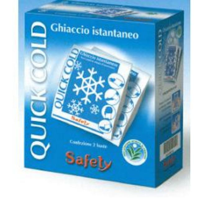 QUICK COLD GHIACCIO ISTANTANEO SAFETY