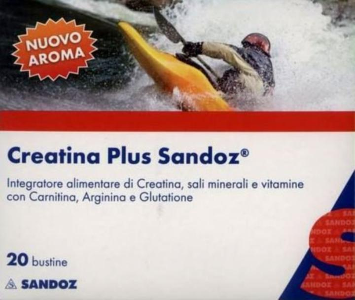 SANDOZ CREATINA PLUS 20 BUSTINE