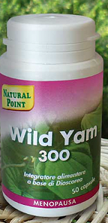 NATURAL POINT WILD YAM 300 - 50 CAPSULE 300 mg