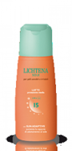LICHTENA SOLE LATTE SPF 15  125ml