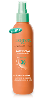 LICHTENA SOLE LATTE SPRAY SPF30 - 125ml