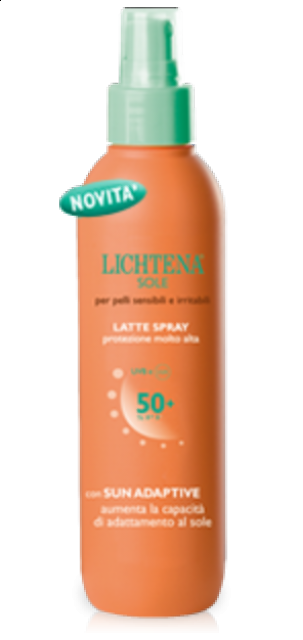 LICHTENA SOLE LATTE SPRAY SPF50+  100ml