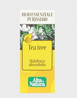 ALTA NATURA TEA TREE OIL OLIO ESSENZIALE PURISSIMO 10ML