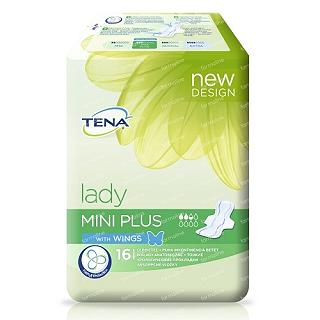 TENA LADY  MINI PLUS 16 PEZZI